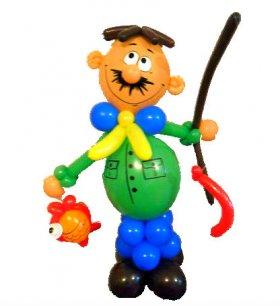 Фигуры из шаров для взрослых