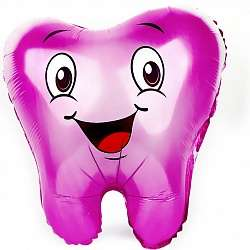 Зубик Розовый