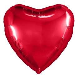 Сердце большое 78 см (Красный)