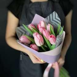 Букет из 11 тюльпанов № 45