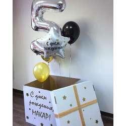 Коробка с шарами № 23