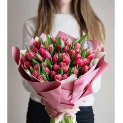 Букет из 51 тюльпана № 52