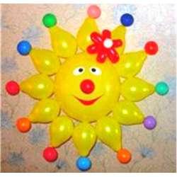 Цветное солнышко