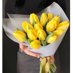 Букет из 15 тюльпанов № 46