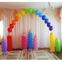 Оформление детского зала № 39