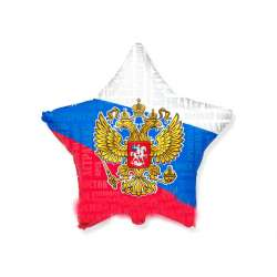 """Звезда """"Триколор России. Герб"""""""