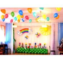 Оформление детского зала № 23