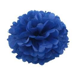 Помпон Синий 30 см