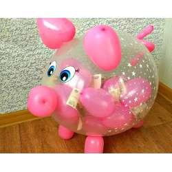 Свинка (шар-сюрприз)