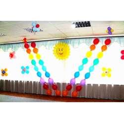Оформление детского зала № 24