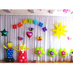 Оформление детского зала № 28
