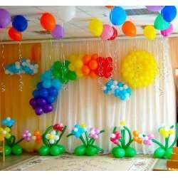 Оформление детского зала № 40