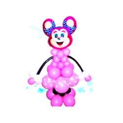 Мышонок розовый