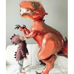 Ходячая фигура Динозавр красный 173 см