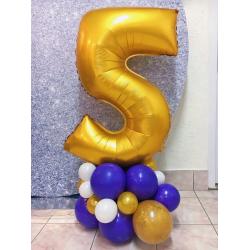 Цифра на подставке № 25