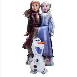 Ходячая фигура Холодное сердце, Принцессы и Олаф 147 см
