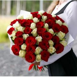 Букет из 51 розы № 36