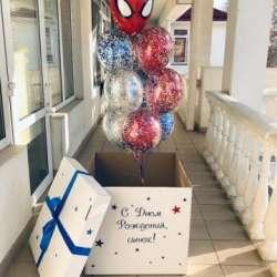 "Коробка с шарами № 19 ""Человек паук"""