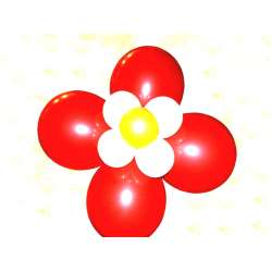 Оформительский цветок 3