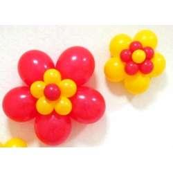 Оформительский цветок 4