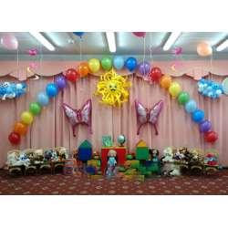Оформление детского зала № 47