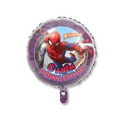 """Круг С днем рождения """"Человек паук 2"""""""
