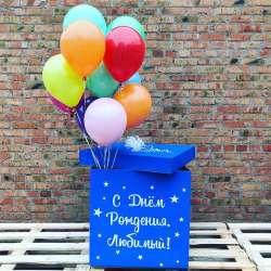 Коробка с шарами № 45