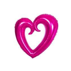 Сердце Вензель (фуше) 102 см