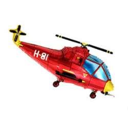 Вертолет (красный)