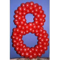 Цифра из шаров № 25