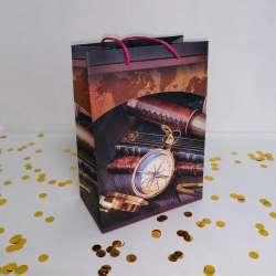Пакет подарочный 20*14 см