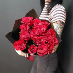 Букет из 15 роз № 19