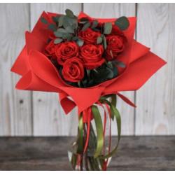 Букет из 11 роз № 15