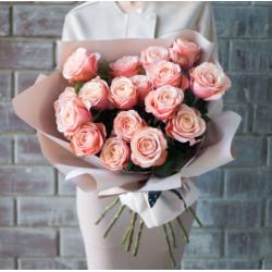 Букет из 17 роз № 21