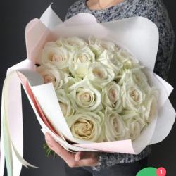 Букет из 19 роз № 26