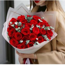 Букет из 25 роз № 30