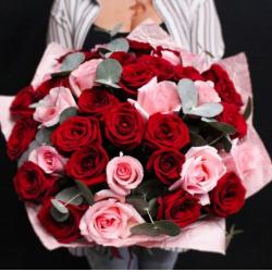 Букет из 31 розы № 34