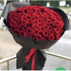 Букет из 101 розы № 41