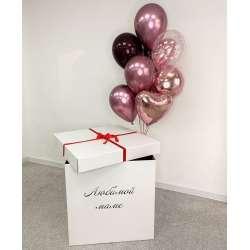 Коробка с шарами № 89