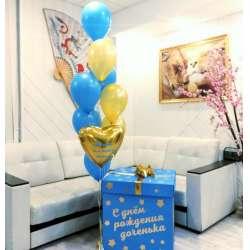 Коробка с шарами № 102