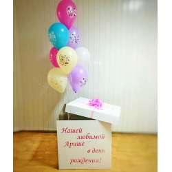Коробка с шарами № 94