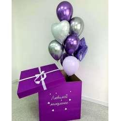 Коробка с шарами № 98