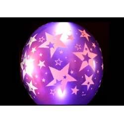 Гелиевый светящийся шар с рисунком