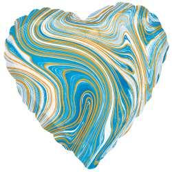 """Сердце """"Голубой мрамор"""""""