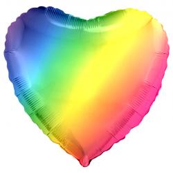 Сердце. Радужный