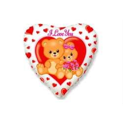 """Сердце """"Влюбленные мишки"""""""