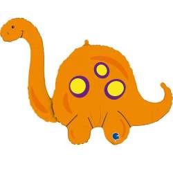 Динозавр. Оранжевый Бронтозавр