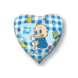 """Сердце """"Новорожденный мальчик"""""""