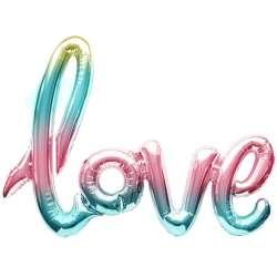 """Надпись """"Love"""" градиент"""