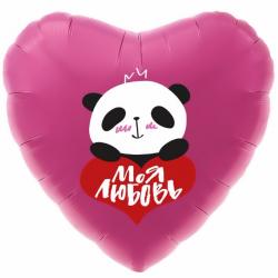 """Сердце """"В объятиях панды"""""""